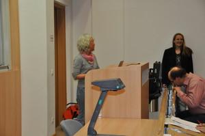 Frau Dr. Timm und Herr Bethke begrüssten die Teilnehmer und führten durch die Veranstaltung