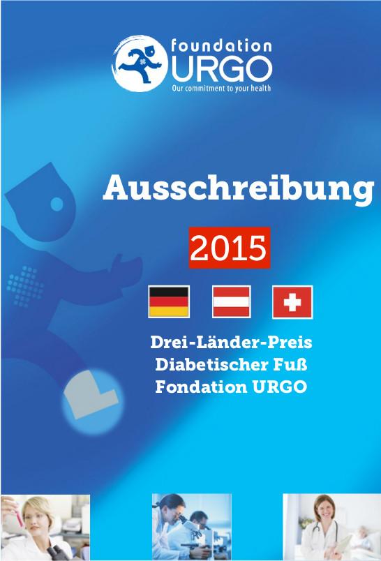 Fondation Urgo: Ausschreibung Diabetischer Fuß