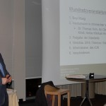 Axel Bethke informiert von den neuen Standards