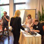 Fachaustausch und Ausgabe der Teilnahmebescheinigungen