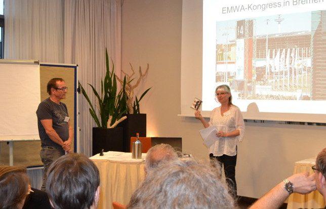 Birte Weiß und Manfred Winkler berichten vom Bremer Wundkongress