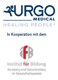 Logo URGO MEDICAL & LOGO Institut für Bildung