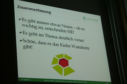 Das Fazit des Vortrags von Herrn Sellmer, weiteres entnehmen Sie bitte dem Download zum Vortrag.