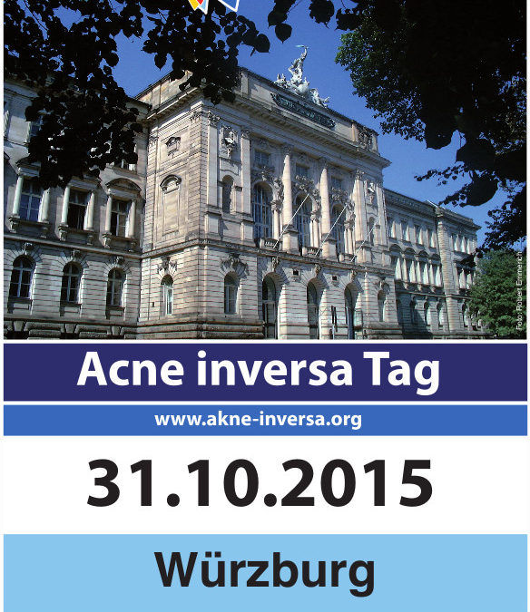 SAVE THE DATE: Acne inversa Tag am 31.10. in Würzburg