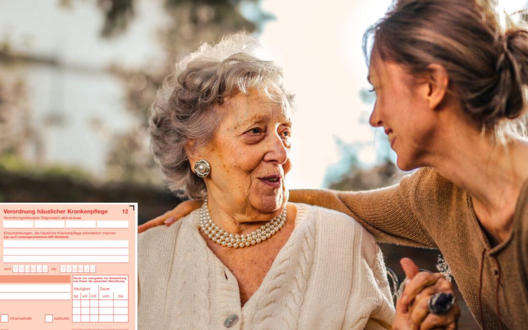 Häusliche Krankenpflege: Formular zum 1. Oktober angepasst